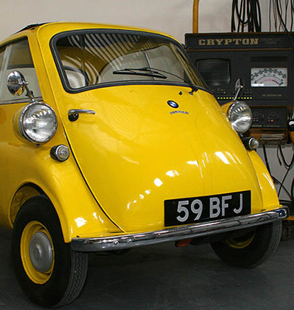 BMW Isetta 300 vintage car